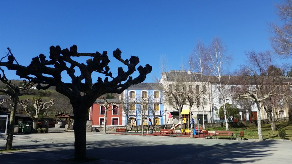 El parque en Grandas de Salime.