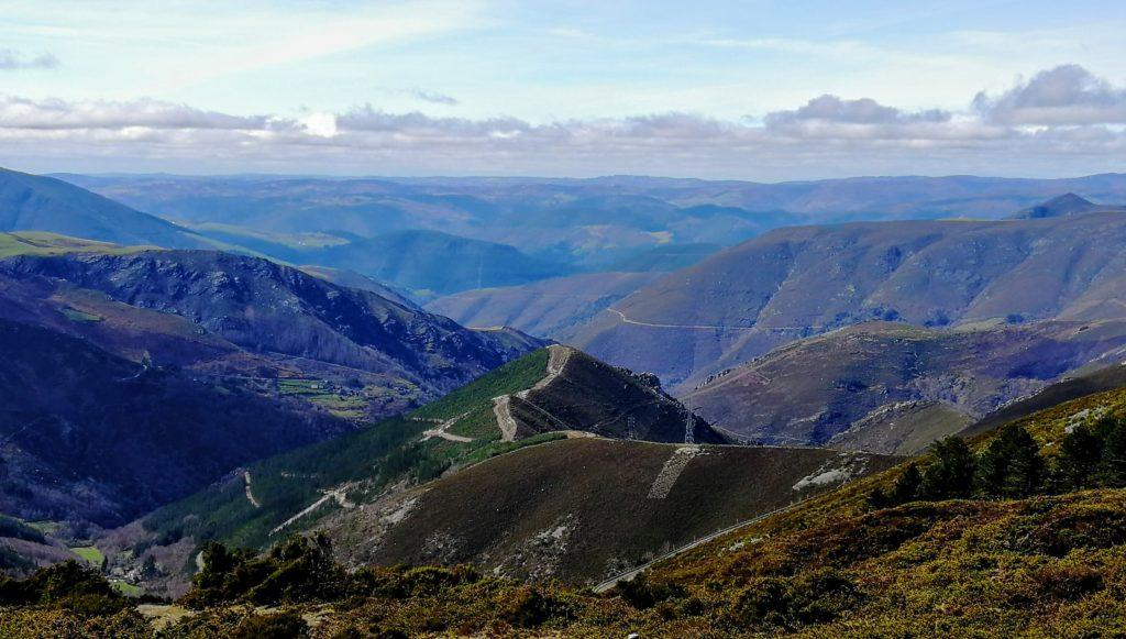 Vista desde las montañas